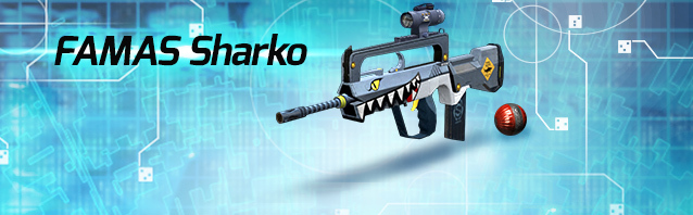 FAMAS Sharko and a 1 Week VIP Sale (ends 14/6)