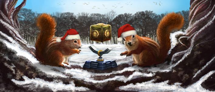 ¡Ha llegado la Navidad al Juego del Cristal de la luna!