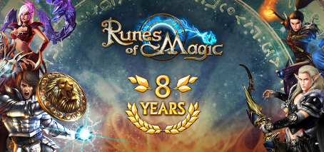 Les 8 ans de Runes of Magic