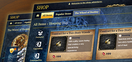 Cosmetic Tweaks to New Shop