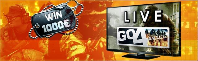 Watch the Go4S.K.I.L.L. Cup #6 LIVE!