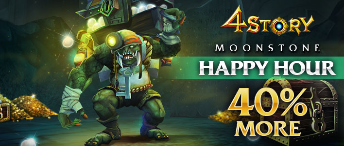Happy Hour (+40%) - Moonstone blessing from the goddess Leya
