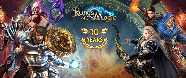 We're Celebrating 10 Years of RoM – Collect Your Gifts!